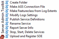ArcGIS Server Administration Toolkit - 10.1+