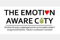 """Emotion-Aware Cities:Emotion & stress mapping based on social media content using ArcGIS Online: """"Citizens as Sensors"""" revisited"""