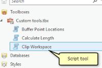 Script Tool and Geospatial Model