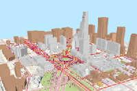 3D Virtual City: 2D to 3D