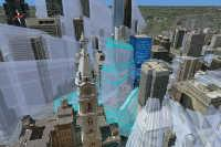 3D Virtual City: Shadows over time