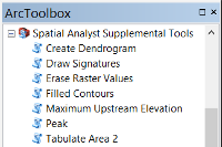 Spatial Analyst Supplemental Tools