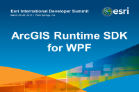 DS2013: ArcGIS Runtime SDK for WPF Demos