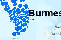 Burmese Python Sightings (1995-2017)