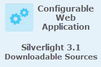 Schematics Configurable Web Application Source Code - ArcGIS API for Silverlight 3.1
