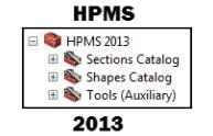 HPMS 2013 Geoprocessing Models