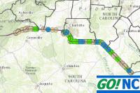 NCDOT State Boundary Roadway Maintenance Status Change