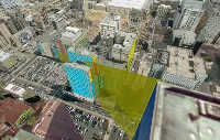 3D Virtual City: Glare Analysis