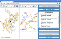 Schematics Configurable Web Application - ArcGIS API for Silverlight 2.4