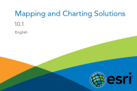 Esri Production Mapping 10.1 Tutorial - Cartographic Production