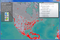 Add Shapefile and Raster Data Sample for ArcGIS Runtime SDK for WPF