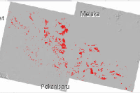 Major atmospheric emissions from peat fires in Southeast Asia during non-drought years: evidence from the 2013 Sumatran fires