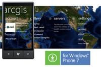 Aplicación ArcGIS para Windows Phone