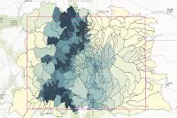 Colorado Basins - Demo of Daily SNODAS Snow Statistics