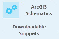 Snippets for ArcGIS Schematics .NET Developers