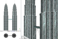 Example Petronas Towers 2012