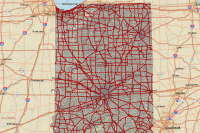 Roads and Highways Sample Data: Indiana DOT