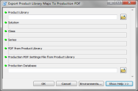 Export Product Library Maps to Production PDF (ArcGIS 10.1)