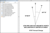 Create Declination Diagram (ArcGIS 10.2)