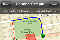 Routing Sample