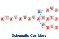 Schematic Node Reduction Extended Criteria Sample Source Code - Reducing and Highlighting Schematic Corridors
