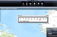 Draw tool for ArcGIS Viewer for Silverlight