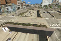 3D Virtual City: Multipatch Overpass