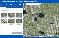 Waimakariri District Council Cemeteries Viewer
