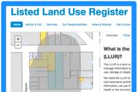 Listed Land Use Register