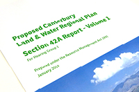 Canterbury Land and Water Regional Plan