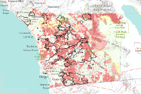 Wildfire Hazard Map Ready San Diego
