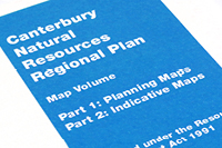 Map Volume A for the Natural Resources Regional Plan