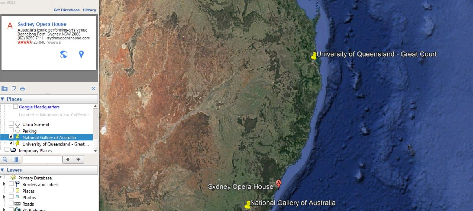 Learning Google Earth Pro