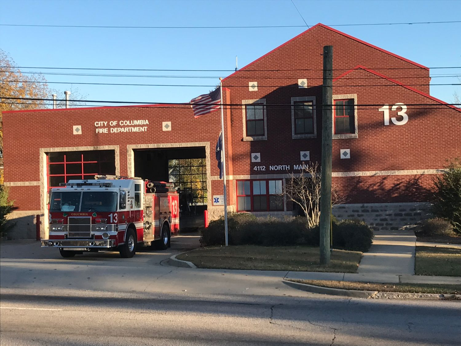 Columbia Fire Department Stations