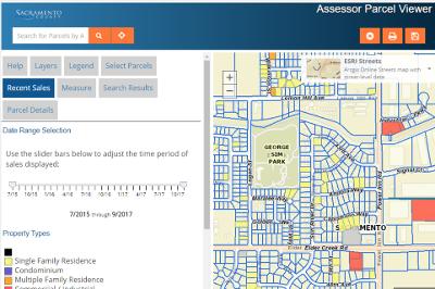 Assessor Parcel Viewer | Sacramento County GIS Open Data Site