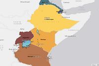 Countries ESRI Eastern Africa Serve