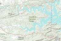 Ouachita National Forest Interactive Map