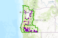 Blm Or Rmps For Western Oregon Recreation Management Areas Web Map