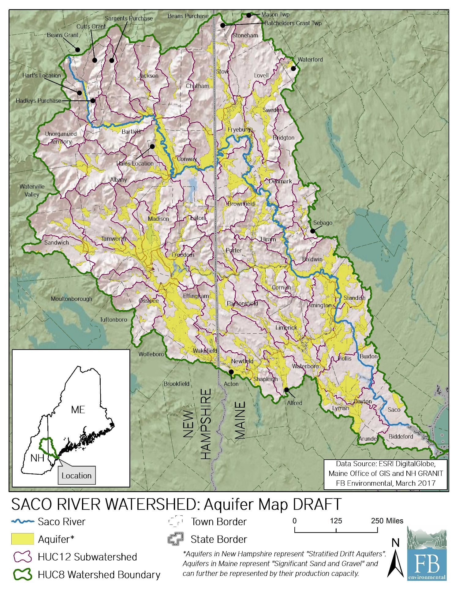 Saco River Drinking Water Resiliency Project
