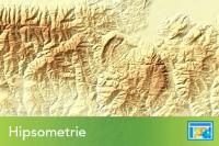 Hipsometrie Umbrita Relief