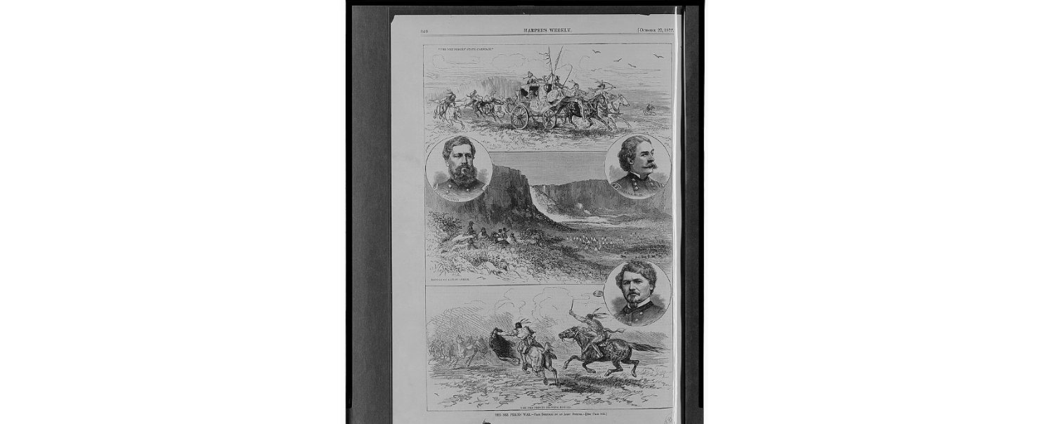 The Famous Retreat Of Chief Joseph And The Nez Perce Indians