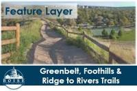 Boise parks trails open data