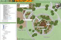 ArcGIS Davis Arboretum Map on