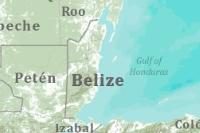 Belize World Basemap