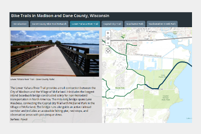 Story Map: Featured Bicycle and Pedestrian Trails in Dane ... on vermont snowmobile trail map, green bay snowmobile trail map, dane county parks map, pine mountain ga hiking trail map, vilas county snowmobile map, southern wisconsin snowmobile trail map, dane county wi snowmobile map, kenosha snowmobile trail map, marathon snowmobile trail map, wisconsin dells snowmobile trail map, racine snowmobile trail map, lincoln county wisconsin snowmobile map, oneida county snowmobile map, bayfield wi snowmobile trail map, wisconsin state snowmobile map, northern wisconsin snowmobile trail map, dane county wisconsin snowmobile trails, dane county area map, langlade county snowmobile map, wi state snowmobile trail map,