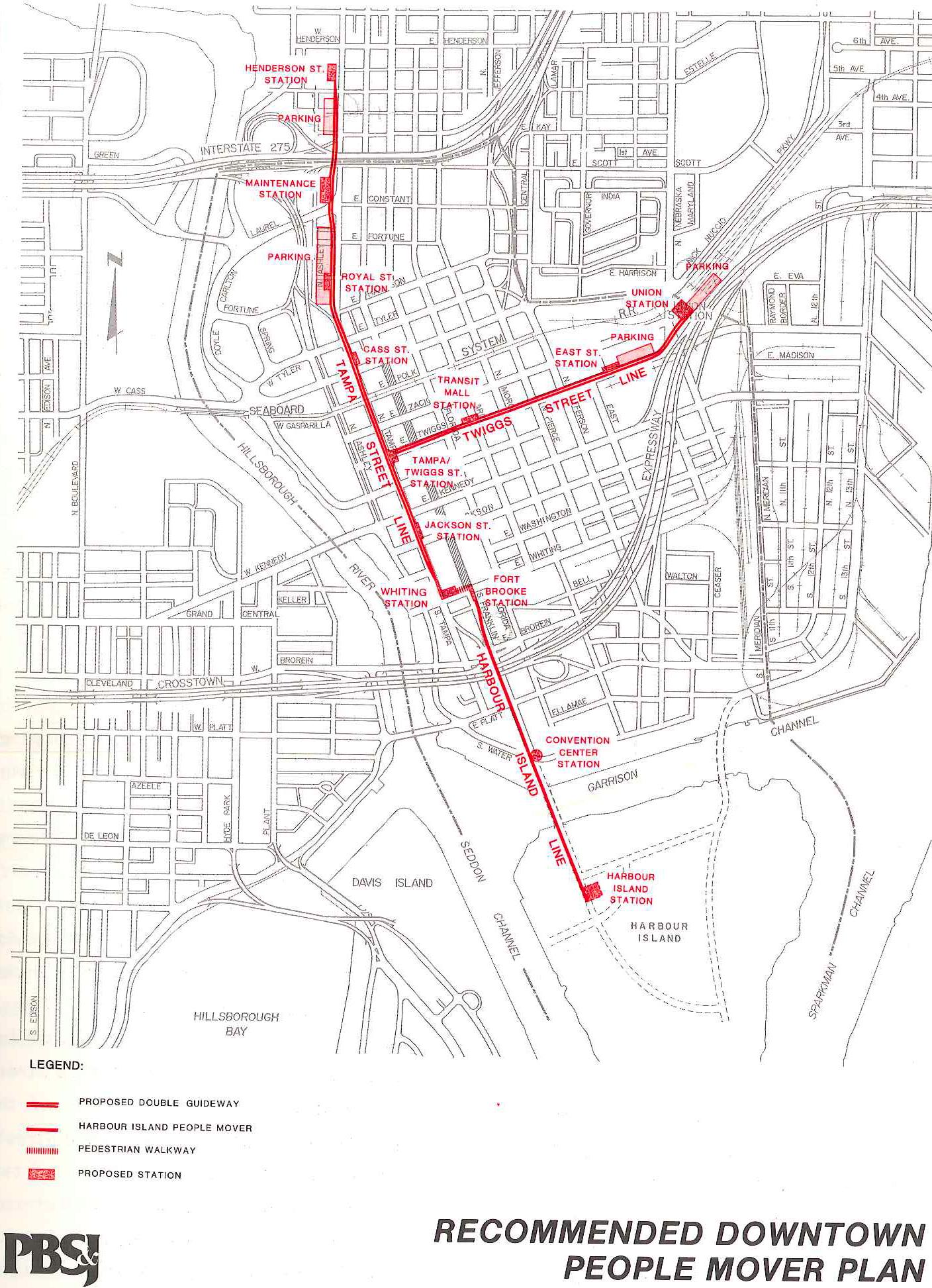 Tampa's Streetcar: Past, Present, & Future on ybor district map, ybor city walking map, ybor city things to do, ybor city trolley map,