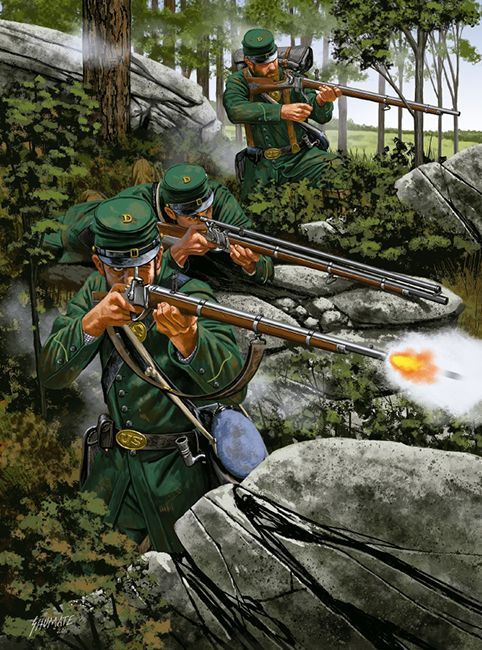 The Blue and Gray, and Green: Berdan's Sharpshooters