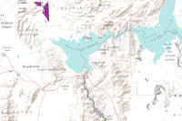 Map Of Colorado River In Arizona.The Colorado River And Its Deposits Downstream From Grand Canyon In