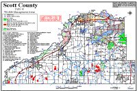 Parks and wildlife management areas map