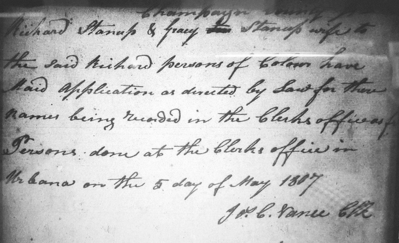 Tracking Freedom: Tracing the Origins of Ohio's Free Blacks